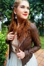 White-tulle-skirt-shabby-apple-skirt-dark-brown-zara-jacket