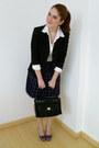Black-courtenay-blazer-black-liz-claiborne-purse-purple-plaid-dazz-skirt