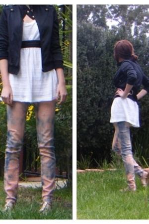 jeans - shirt - jacket