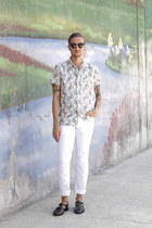 kennington shirt - Spy Optic sunglasses - H&M pants - Zara sandals