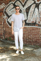 H&M shoes - Spy Optic sunglasses - H&M pants