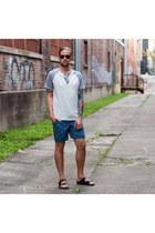 Levis shirt - Arizona shorts