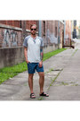 Levis-shirt-arizona-shorts