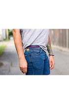 Alex and Ani bracelet - Levis shorts - ray-ban sunglasses - H&M vest
