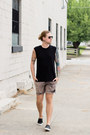 Rvca-shorts-ray-ban-sunglasses-sperry-sneakers-h-m-t-shirt