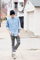 Cat Footwear boots - Kill City jeans - Forever 21 hat - JCrew shirt