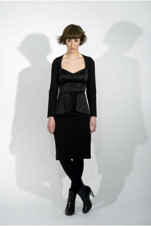 black Catharina Eden dress