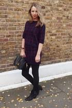 ASH boots - Debenhams sweater - Sophie Hulme bag