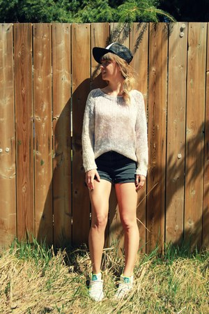 snapback Vans hat - ombre Cotton Candy sweater