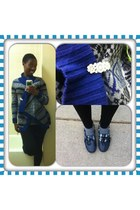 navy rubber Sperry Top-Sider shoes - black Forever 21 jeans