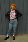 Vintage-shoes-vintage-jeans-old-jacket-vintage-belt-etsy-t-shirt