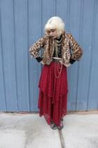kohls jacket - Urban Outfitters top - Langford Market skirt