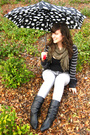 F21-shirt-target-cardigan-h-m-scarf-f21-jeans-vintage-boots