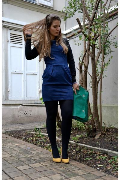 Isabel Marant dress - Lacoste bag