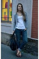Gérard darel bag - Levis jeans - Zara heels