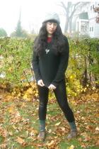 hat - Isaac Mizrahi for Target sweater - American Apparel shirt - pants - shoes