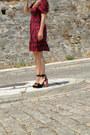 H-m-dress-zara-heels
