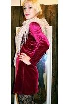 own design dress - Sportsgirl leggings - random brand scarf