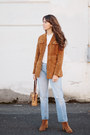 Brown-free-people-boots-blue-levis-jeans-bronze-forever-21-jacket