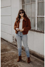 Brown-free-people-boots-brown-urban-outfitters-coat-sky-blue-levis-jeans