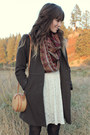 Maroon-vintage-scarf-bronze-vintage-boots-ivory-free-people-dress