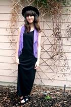 violet vintage vest - black Wanted sandals