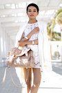 Fluffy-cardigan-mink-pink-cardigan-python-bag-steve-madden-bag-again-shorts
