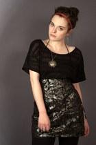H&M skirt - lindex t-shirt
