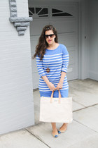 JCrew dress - ann taylor flats