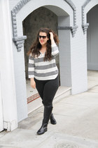 madewell sweater - JCrew pants