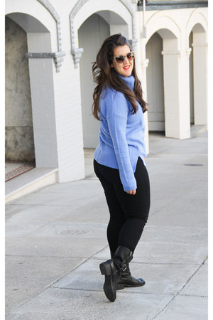 Seychelles boots - Gap sweater