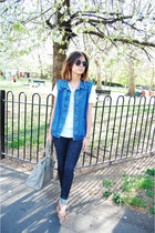 Zara jeans - Uterque bag - Urban Outfitters sunglasses - Massimo Dutti loafers -