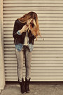 Black-slouchy-suede-rocket-dog-boots