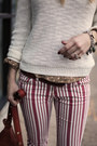 Brick-red-striped-free-people-jeans-brown-born-boots-ivory-knit-joes-sweater