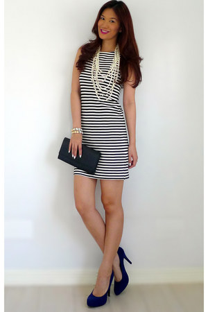 Zara dress - YSL bag - Aldo bracelet - Forever 21 pumps - Forever 21 necklace