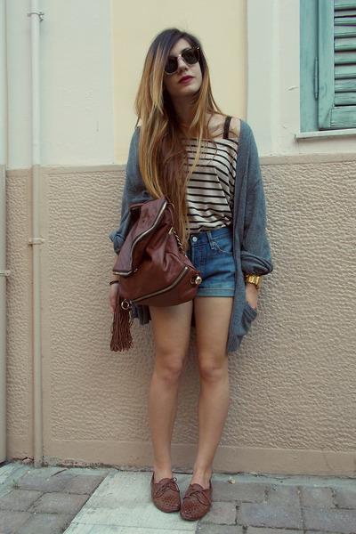 D&G bag - Levis shorts
