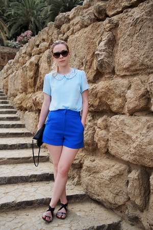 Forever 21 top - Yesstyle shorts - Topshop sandals