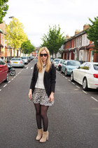 asos boots - Valentino sunglasses - Zara skirt