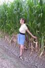 e08f0130792c ... Sky-blue-wet-seal-skirt-cream-thrifted-shirt-