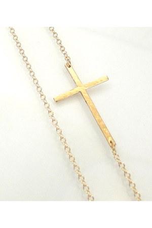 14k gold filled Theresa Mink necklace