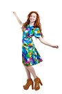 Watercolor-60s-vintage-dress