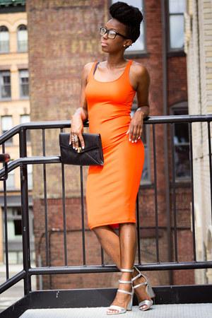 H&M dress - Topshop heels