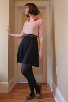 thrifted skirt - Old Navy loafers