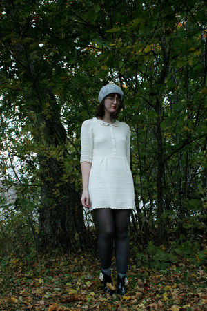asos dress - thrifted hat