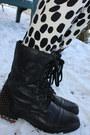 Black-shoemint-boots-bubble-gum-pink-angora-asos-sweater