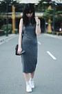 Dark-gray-forever-21-dress-dark-gray-forever-21-sunglasses