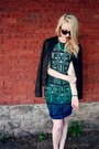 Black-river-island-jacket-aquamarine-muse-apparel-dress