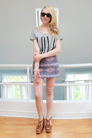 american eagle outfitters skirt - tawny Aldo shoes