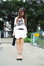 White-wrap-zara-skirt-white-river-island-jumper