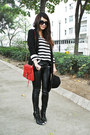 Black-h-m-sweater-black-river-island-blazer-black-leather-zara-pants